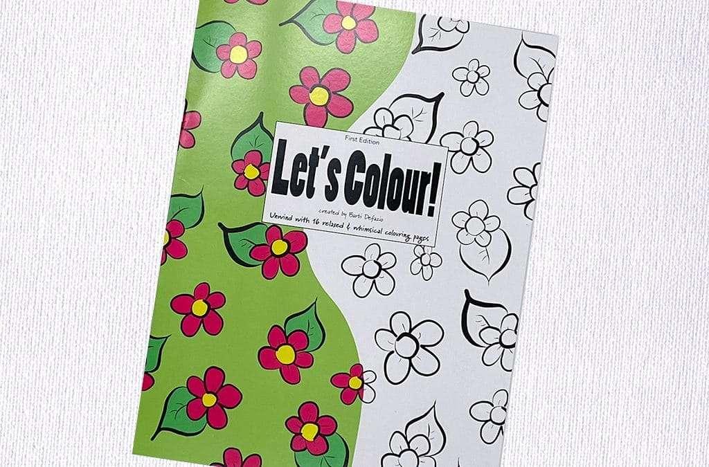 Let's Colour! Colouring book Release!